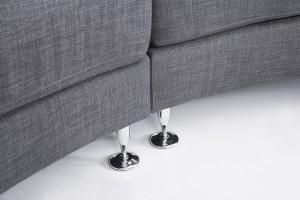 modern circular sofa Rotunde by Beliani close up