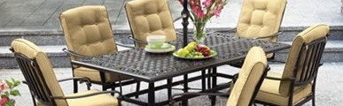 Keep Your Outdoor Dining Set Safe from the Meddling Hands of Kids and Pets